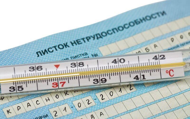 Форма бланка листка нетрудоспособности: где взять образец